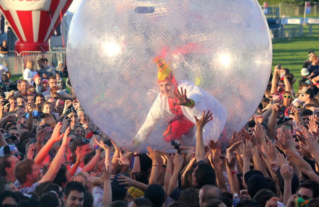 Peakafeller @ Life in Color Festivent Ville de Lévis - 1er août 2015