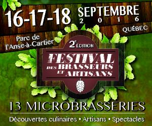 Le Festival des brasseurs et artisans de Québec de retour pour une seconde édition !