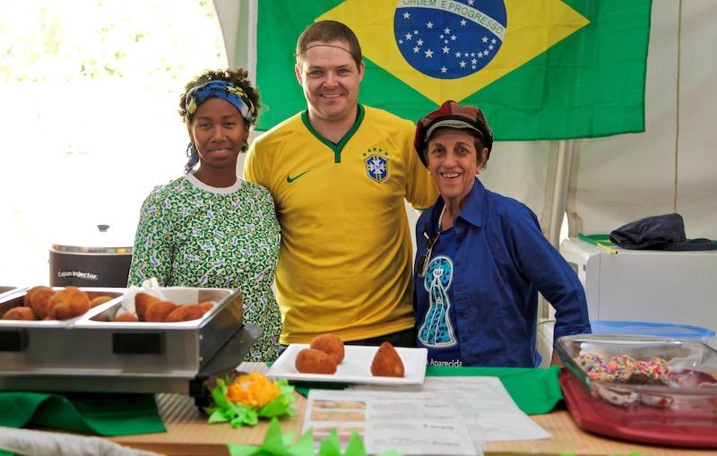 L'équipe de la Casa du Brésil