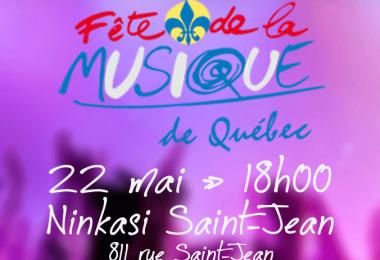 Invitation – Dévoilement de la programmation – Fête de la Musique de Québec 2016