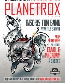 Envol et Macadam présente la 5e édition des auditions PLANETROX