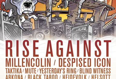 Rise Against, Millencollin et Despised Icon seront de la 20e édition d'Envol et Macadam