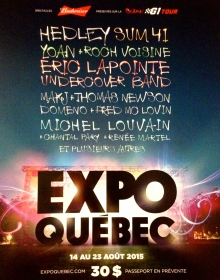 Muted Screams sera de la programmation d'Expo Québec 2015