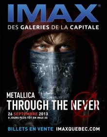 Concours : METALLICA THROUGH THE NEVER – L'EXPÉRIENCE IMAX 3D