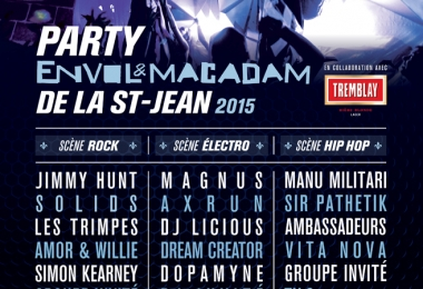 Le Party Envol et Macadam de la St-Jean : L'alternative musicale de la Fête nationale