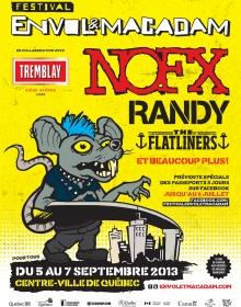 NOFX, Randy et The Flatliners à Québec. Un avant-goût de la programmation du prochain Festival Envol et Macadam