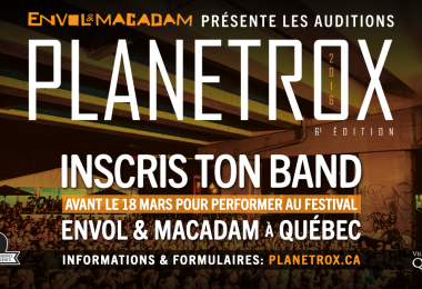 Envol et Macadam présente la 6e édition des auditions internationales PLANETROX