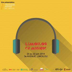 Poster Limoilou en Musique 2014