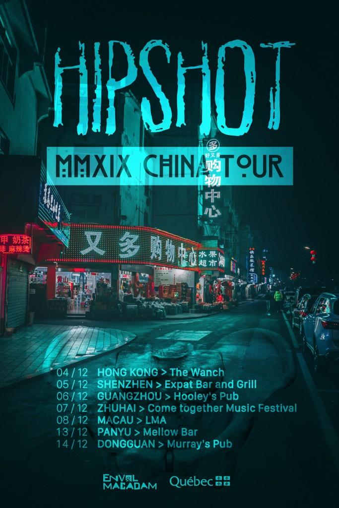 Hipshot-China-Tour-2019-Affiche