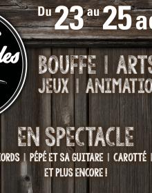 Les Trois Accords, Pépé et sa guitare et Carotté aux Fêtes gourmandes Desjardins de Neuville