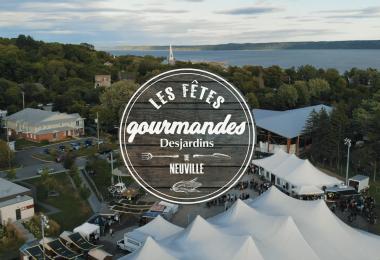 Repas gourmet à emporter et spectacle virtuel pour les Fêtes gourmandes Desjardins de Neuville 2021