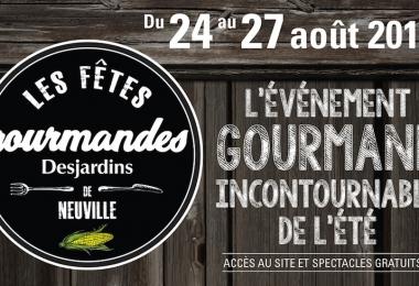 Une programmation variée et festive pour les Fêtes gourmandes Desjardins de Neuville