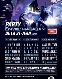 Le Party Envol et Macadam de la St-Jean : L'alternative musicale de la Fête nationale