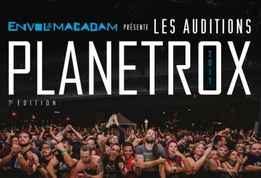 La 7e édition des auditions PLANETROX d'Envol et Macadam est lancée !