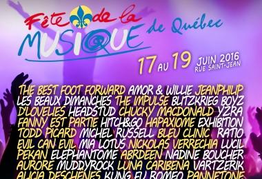 La Fête de la musique de Québec dévoile sa programmation