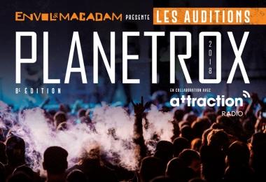 C'est parti pour la 8e édition des auditions PLANETROX d'Envol et Macadam!