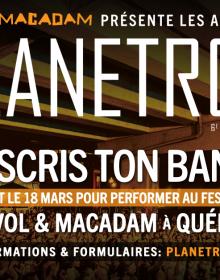 Plus que quelques jours pour s'inscrire aux auditions internationales PLANETROX du festival Envol et Macadam
